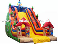 China Outdoor Inflatable Clawn Slide For Children Games factory