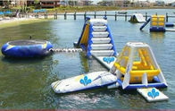Customised Inflatable Water Park / Aquaglide Jungle Jim Modular Playset supplier