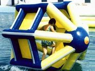 China PVC tarpaulin Inflatable Water Roller , Inflatable Water Park Amusement Equipment factory