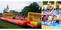 China School Inflatable Soccer Field / Soap Football Field For Teenager Play factory