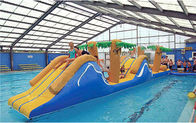 China Inflatable Obstacle Challenge Course, Inflatable Water Sports For Adults company
