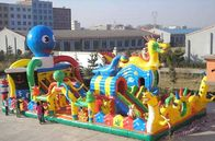 China Inflatable Russian Dragon Palace, Inflatable Children Fairground factory