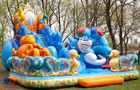 China Inflatable Funland With  Octopus For Children Amusement Games factory