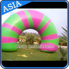 Ce Certificated Blue Inflatable Gate , Advertising Inflatable supplier