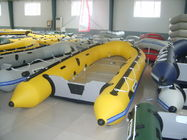 0.9mm PVC Coated Tarpaulin, Fire Resistant Anti - Ruptured Inflatable Sports Boat supplier