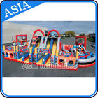China Inflatable Obstacle Challenges Inflatable Off-Road Car Obstacle Course factory