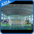 Swimming Pool / Park Transparent Inflatable Water Roller Ball supplier