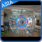 China Ce Certificated Transparent Inflatable Zorb Ball In Clear With Color Stirps factory