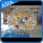 China PVC / TPU Hand Art Work Color Dots Zorb Ball For Water Sports Games factory