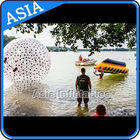 China Water Games Used Pvc Inflatable Zorb With Color Dots For Children factory