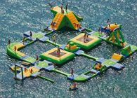 Good Quality Aqua Run Inflatables & Huge Wibit Sport Inflatable Water Parks , Aqua Park Games on sale
