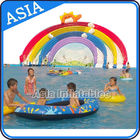 China Ourdoor Playground Inflatable Water Park With Pool , Inflatable Swimming Combo , Water Sports company
