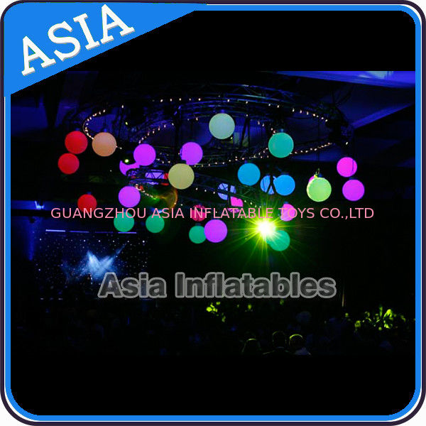 Inflatable LED Lighting Balloon Ceiling Decoration for Club Party Eclairage supplier