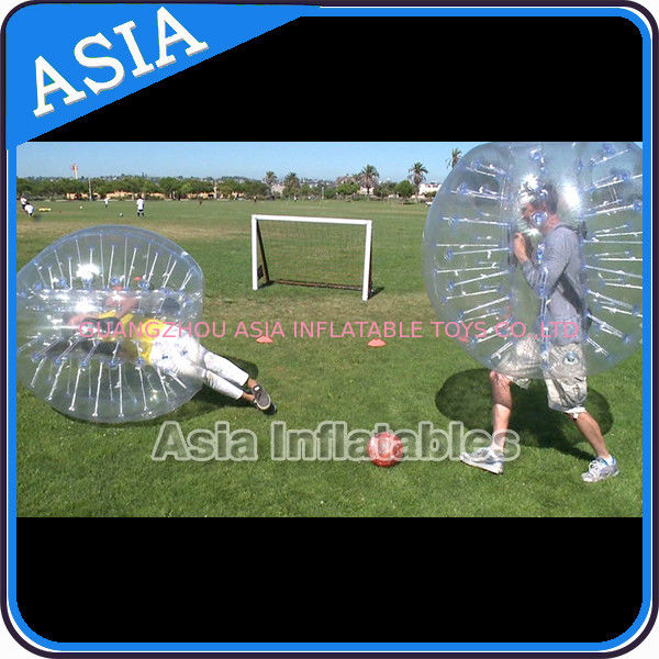 0.8mm/1.0mm PVC/TPU Inflatable Bumper Ball , Soccer bubble , Bubble ball soccer , Inflatable bumper football supplier
