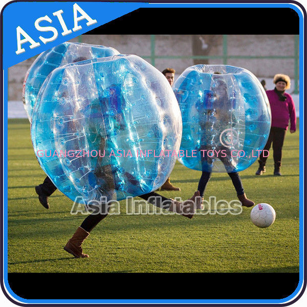 Colorful Inflatable Bumper Ball , Bubble soccer , Inflatable ball suit , Wholesale ball pit balls supplier