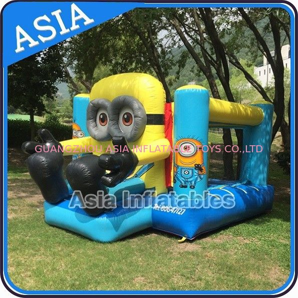 Backyard Inflatable Minion Bouncer Combo For Party Hire Inflatable Sports supplier