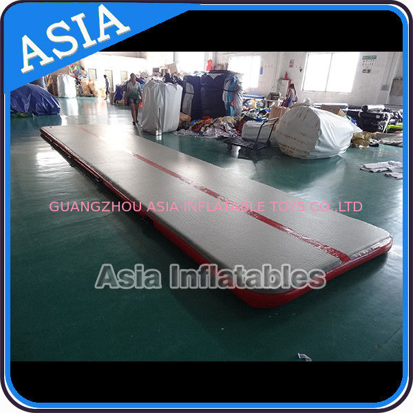 Sealed 10mL Gym Inflatable Tumble Air Mattress In Red and Gray supplier