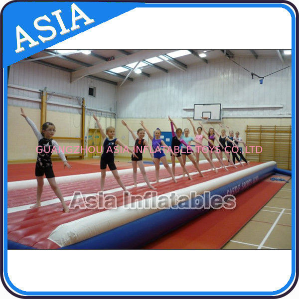 Constant Blower Inflatable Air Gym Matress For Dancing And Training supplier