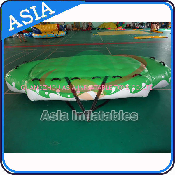 3.3m X 2.1m Digital Printing UFO Inflatable Water Boat Customized Color supplier