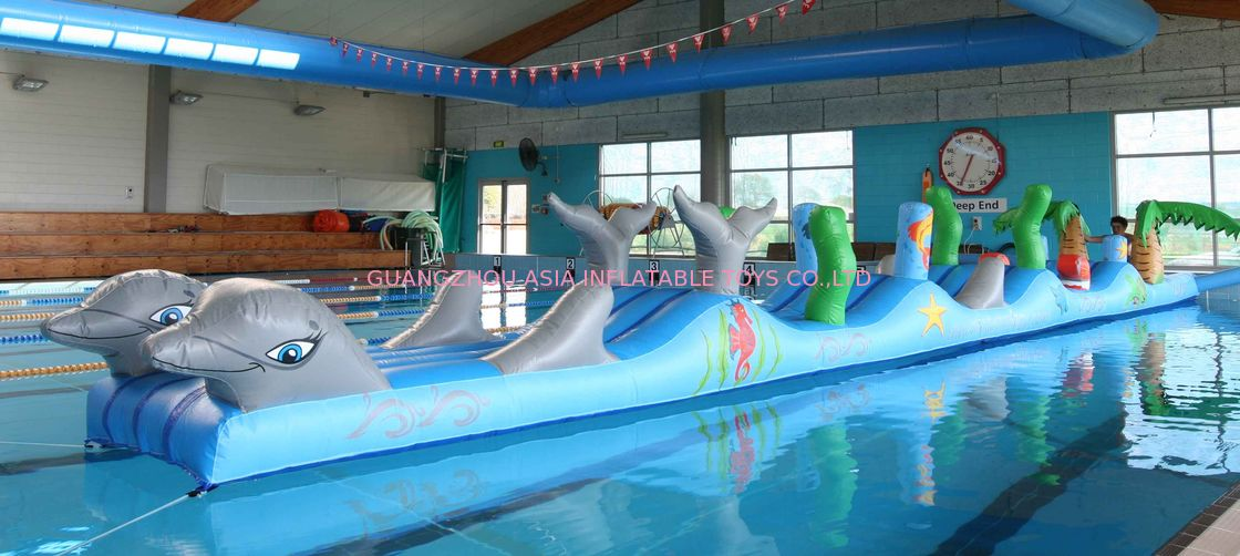 Inflatable Sports For Swimming Pool Aqua Obstacle Course For Sale