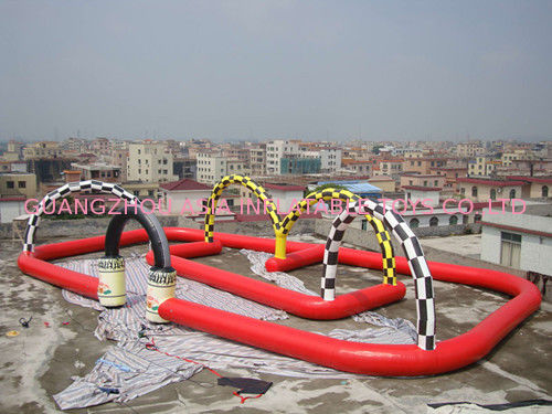 Inflatable Track Course Circuit Orbit for Zorb Ball Sports supplier