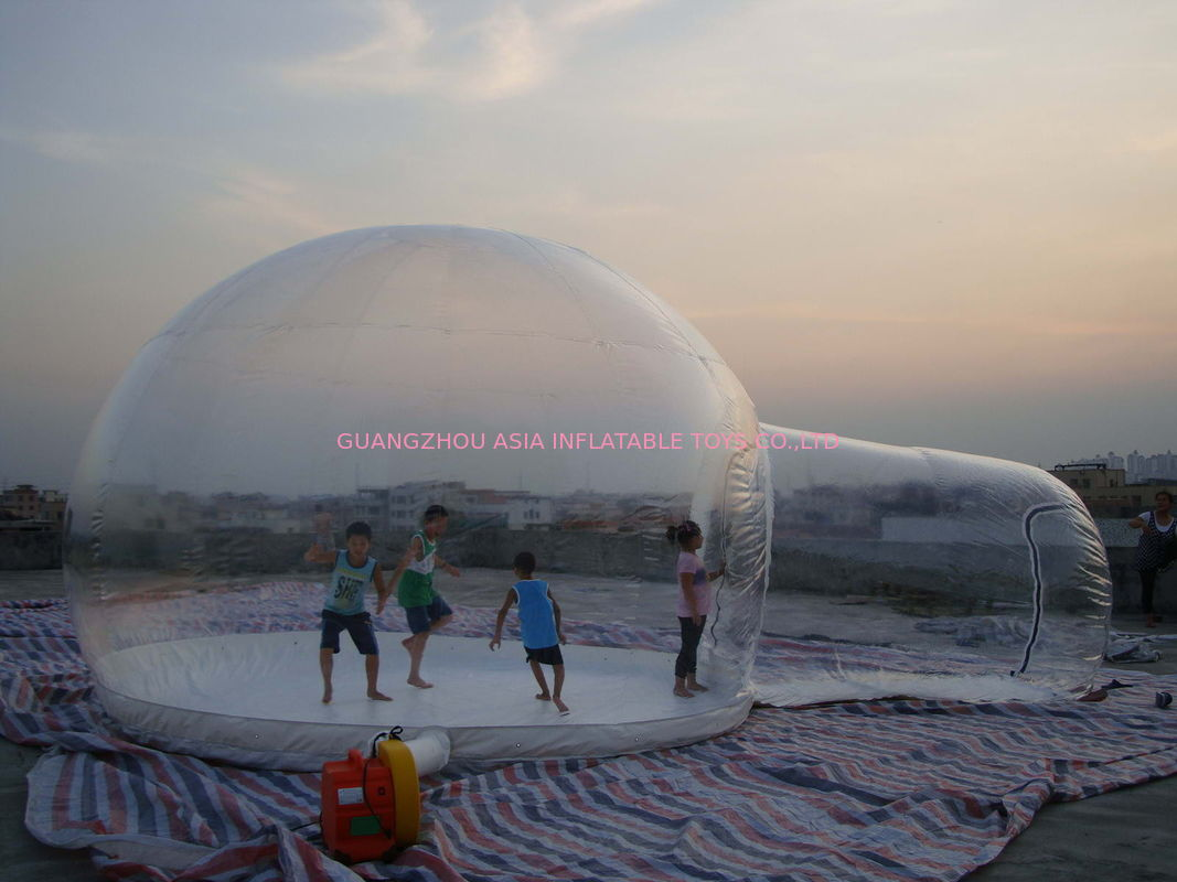 & Clear Inflatable Snow Ball / Bubble Tent for Sale