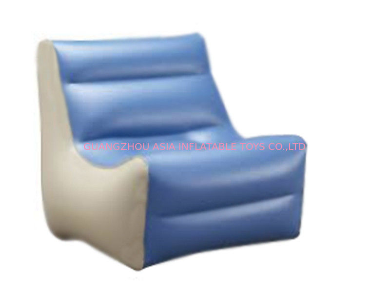 High Quality Inflatable Couch Sofa With 0.6mm Pvc Tarpaulin For 2 To 3 People supplier