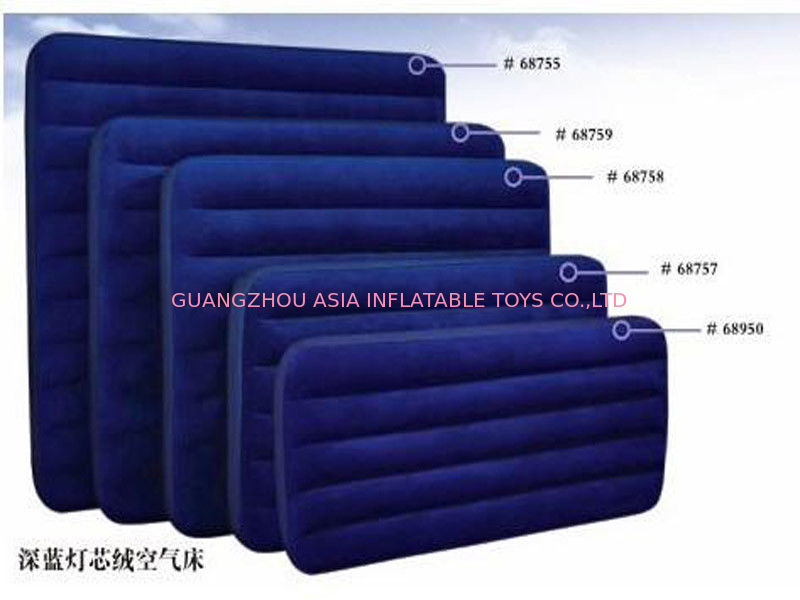Red Durable Pvc Tarpaulin Inflatable Sofa Air Bed Furniture Inflatable Couch Furniture Good