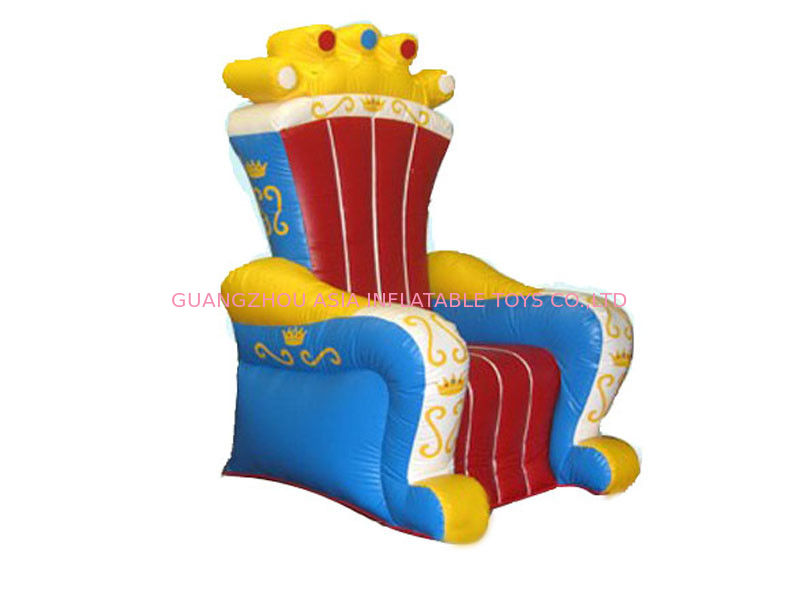 Ce Certificated Inflatable King Chair Sofa Furniture For  : pl1744549 cecertificatedinflatablekingchairsofafurnitureforrental from inflatable-zorb-ball.com size 800 x 600 jpeg 47kB