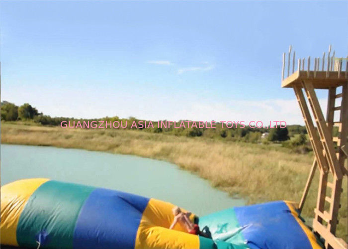 Commercial Grade Inflatable Water Flipper , Inflatable Water Sports Games For Sale supplier
