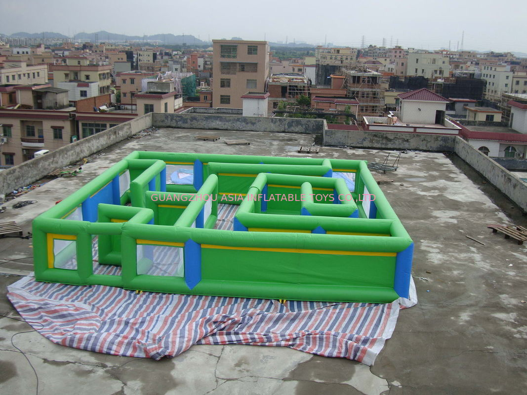 Large Image : Commercial Grade Inflatable Maze Games For Children And ... M Fish Packaging