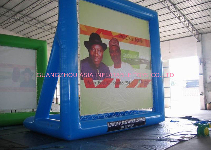 PVC Inflatable Billboard , Advertising Inflatables Water Billboard supplier