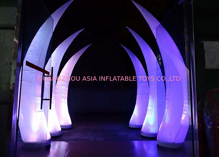 Party Stage Decoration Inflatable Cone With Led Lighting