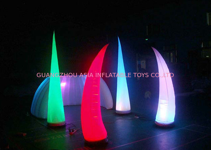Led Light Inflatable Standing Cone Lighting Decoration
