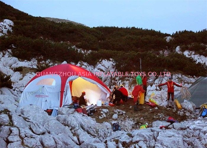 Printed Large Inflatable Tents For Camping With Nylon Fabric Or PVC Tarpaulin supplier