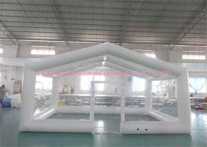 Durable Transparent Inflatable Event Tent / Blow Up Camping Tent supplier