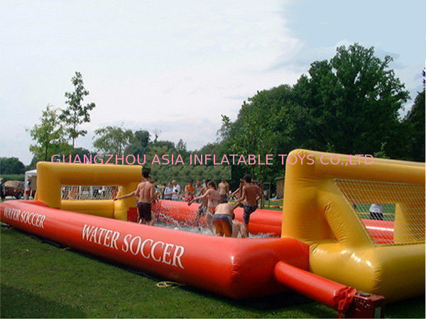 inflatable soap soccer field  supplier