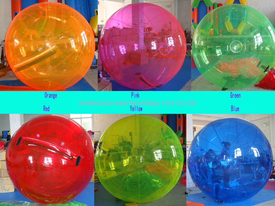 china 2014 colourful water ball for kids inflatable pool playing center