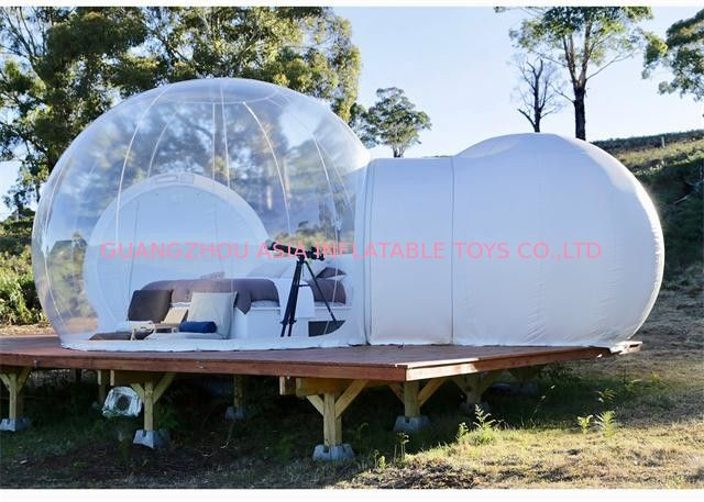 Commercial Inflatable Bubble Sphere Tent with Two Room