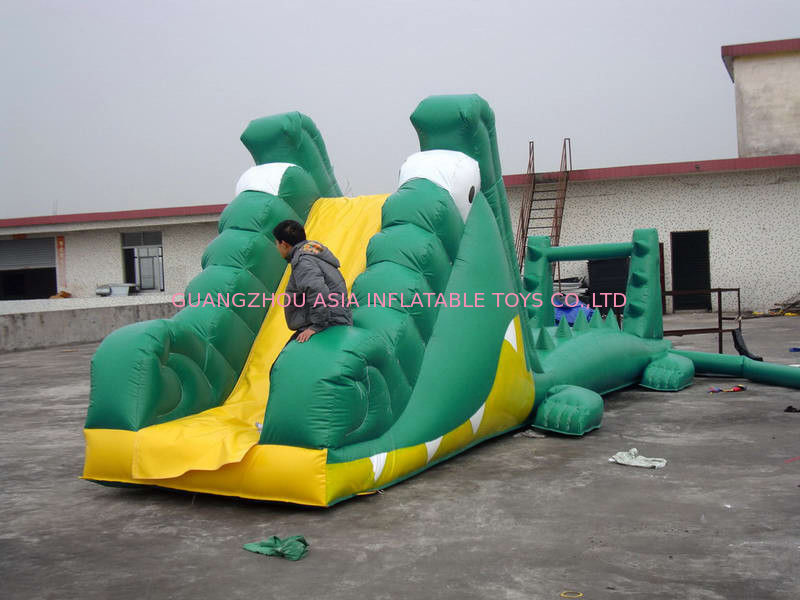 Aqua Floating Water Sports, Inflatable Crocodile Water Obstacle Course supplier