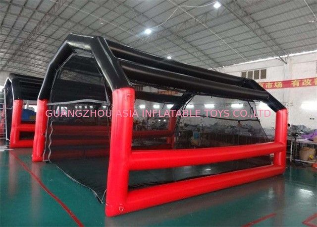 Colorful Large Inflatable Tents Baseball Inflatable Batting Cage High Durability supplier
