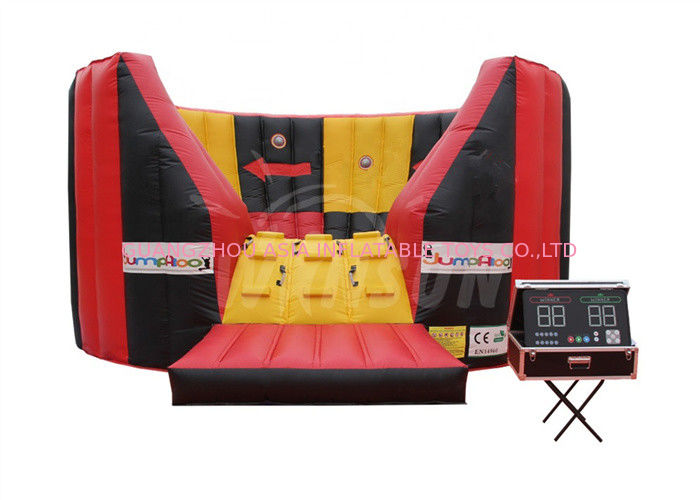 Fire Retardant Inflatable Competition Vortex Game Customized Size And Color supplier