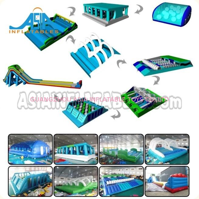 Custom Adult Inflatable Obstacle Challenges / Inflatable 5k Obstacle Run supplier