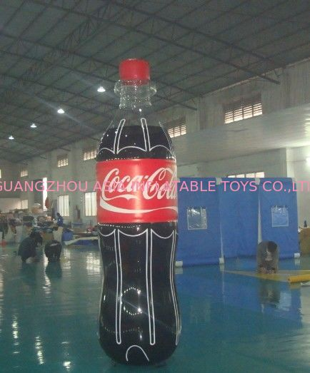 Giant Inflatable Coca Cola Bottle for Advertising / Display supplier