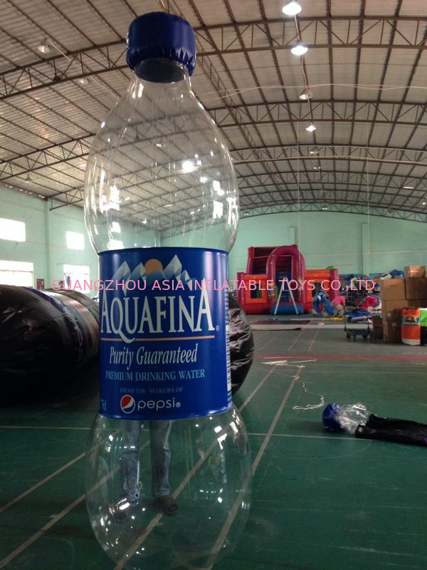 Water Bottle Inflatable Model/Inflatable Water Bottle For Advertising supplier