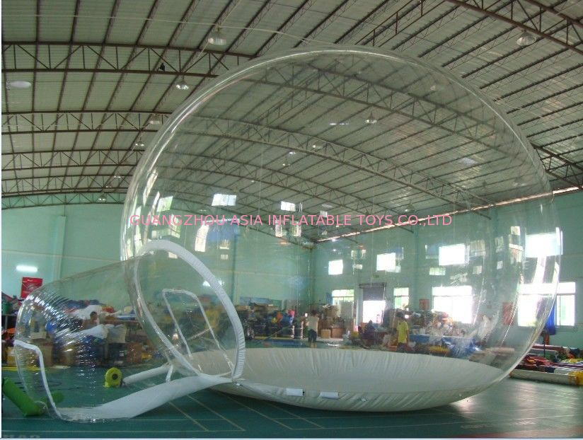 Custom Made 6m Diameter Lucid Inflatable Bubble Tent For Event supplier