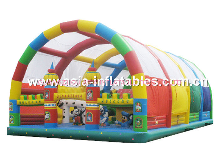 Giant Inflatable Bouncing Funland, Inflatable Playground For Children supplier