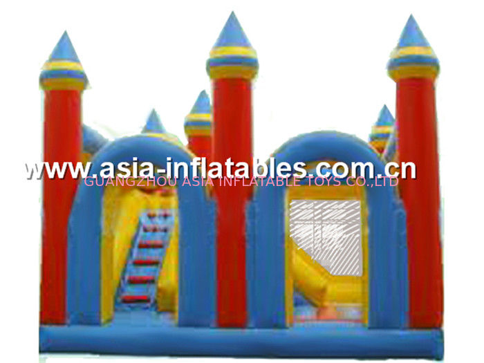 Funny inflatable combo/ inflatable bouncer with slide/ inflatable jumper supplier
