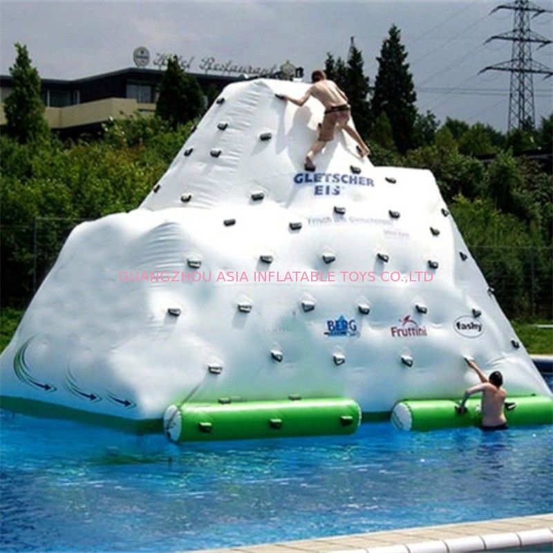 Durable Inflatable Water Game Toys / Inflatable Floating Iceberg supplier