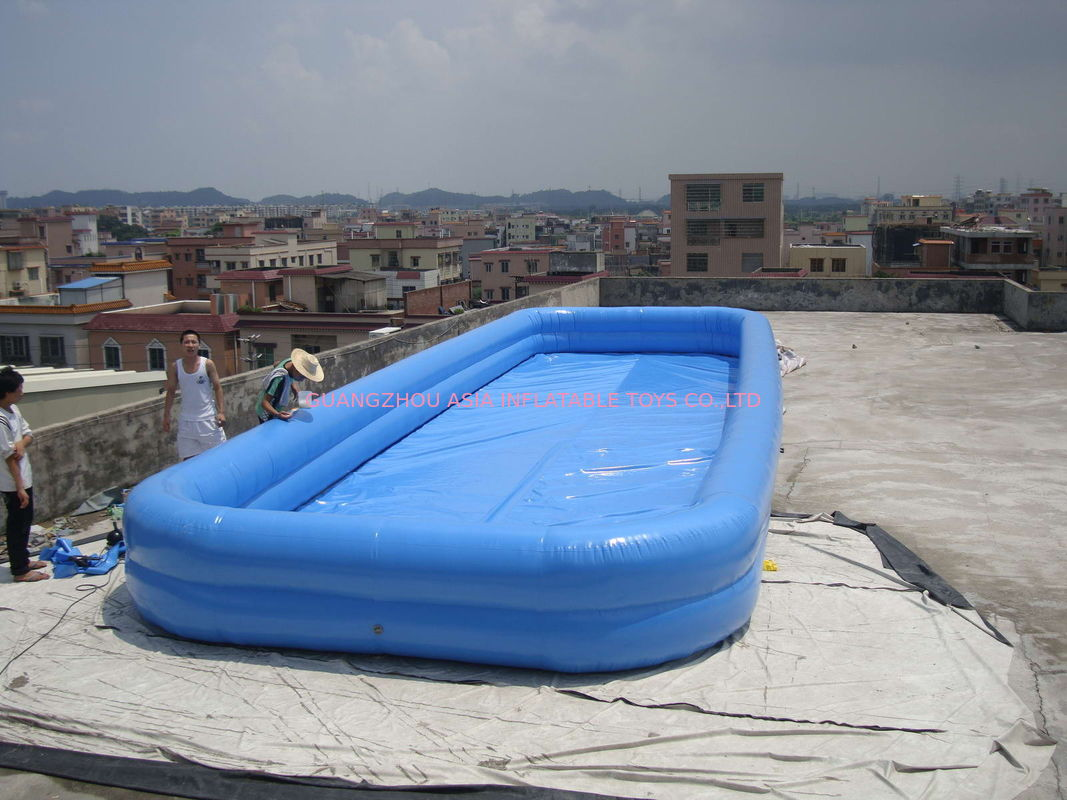 Lovely New Design Huge Commercial PVC Adults and Kids Inflatable Pool with Various Colours supplier